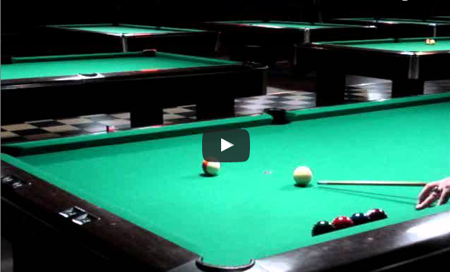 Draw to Center of the Table – Pool Practice Drill