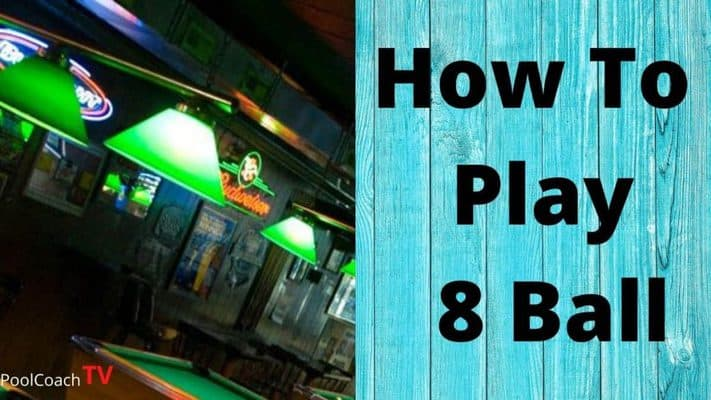 how to play eight ball