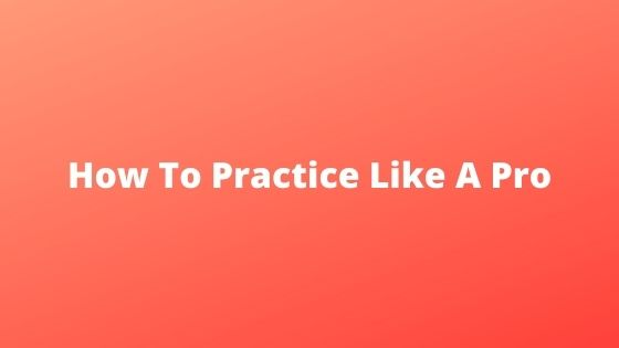 how to practice pool like a pro