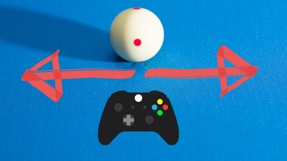 controlling the cue ball